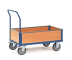 FETRA Kastenwagen 2560, 850x500mm Tragkraft 500kg, Holzwände | günstig bestellen bei assistYourwork