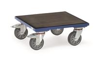 FETRA Kistenroller KF6G, 500x500mm Holzplattform mit Riefengummi | günstig bestellen bei assistYourwork