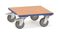 FETRA Kistenroller KF6, 500x500mm mit Holzplattform | günstig bestellen bei assistYourwork