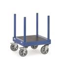 FETRA Langmaterial-Wagen mit Rungen 2110, 700x700mm , Tragkraft 1500kg | günstig bestellen bei assistYourwork