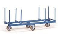 FETRA Langmaterial-Wagen mit Rungen 2111, 2000x600mm, Tragkraft 1500kg | günstig bestellen bei assistYourwork