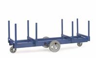 FETRA Langmaterial-Wagen mit Rungen 2123, 2500x700mm, Tragkraft 3000kg | günstig bestellen bei assistYourwork