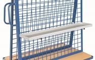 FETRA Materialwanne 1316, 1200x250x40mm für Werkstückwagen 1311, Zubehör | günstig bestellen bei assistYourwork