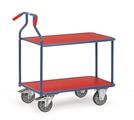 FETRA Optiliner 3601, 900x600mm Tragkraft 400kg, Tischwagen blau-rot | günstig bestellen bei assistYourwork