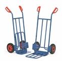 FETRA Paketkarren K1116V  K1116L, 250kg Tragkraft, mit Stahlblechschaufel und Klappschaufel | günstig bestellen bei assistYourwork