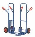FETRA Paketkarren K1326V  K1326L, 300kg Tragkraft mit Stahlblechschaufel und Klappschaufel | günstig bestellen bei assistYourwork