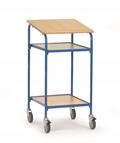 FETRA Rollpult 5834, 500x600mm Tragkraft 100kg, mit Schreibfläche und 2 Ablageböden   | günstig bestellen bei assistYourwork