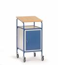 FETRA Rollpult 5836, 500x600mm Tragkraft 100kg, mit Schreibfläche und Stahlschrank  | günstig bestellen bei assistYourwork