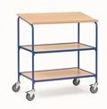 FETRA Rollpult 5837, 500x600mm Tragkraft 100kg, mit Schreibfläche und 2 Ablageböden   | günstig bestellen bei assistYourwork