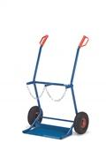 FETRA Stahlflaschenkarre 51006, 100kg Tragkraft 2 Stahlflaschen à 20 Ltr. | günstig bestellen bei assistYourwork