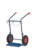 FETRA Stahlflaschenkarre 51011, 150kg Tragkraft 2 Stahlflaschen à 40-50 Ltr. | günstig bestellen bei assistYourwork