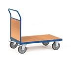 FETRA Stirnwandwagen 2511, 1000x600mm Tragkraft 600kg, mit Stirnwand aus Holz | günstig bestellen bei assistYourwork