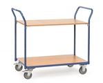 FETRA Tischwagen 1602, 1000x600mm mit 2 Etagen, Tragkraft 200kg | günstig bestellen bei assistYourwork