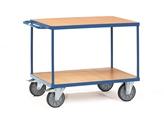 FETRA Tischwagen 2403, 1200x800mm Tragkraft 600kg, mit 2 Böden | günstig bestellen bei assistYourwork