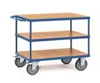 FETRA Tischwagen 2423, 1200x800mm Tragkraft 600kg, mit 3 Böden | günstig bestellen bei assistYourwork