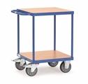FETRA Tischwagen 2496, 600x600mm Tragkraft 500kg, mit 2 Böden | günstig bestellen bei assistYourwork