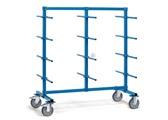 FETRA Tragarmwagen 4624-1 1200x800mm, zweiseitig,  mit 24 Tragarmen mit PVC-Schlauch | günstig bestellen bei assistYourwork