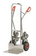 FETRA Alu-Treppenkarre AK1328, Luft-Bereifung, Tragkraft 200kg, extra breite Schaufel | günstig bestellen bei assistYourwork