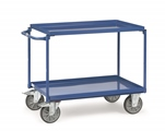 FETRA Tischwagen 4820, 850x500mm Tragkraft 400kg, mit 2 Blechwannen  | günstig bestellen bei assistYourwork