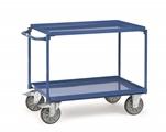 FETRA Tischwagen 4822, 1000x700mm Tragkraft 400kg, mit 2 Blechwannen  | günstig bestellen bei assistYourwork