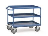 FETRA Tischwagen 4830, 850x500mm Tragkraft 400kg, mit 3 Blechwannen | günstig bestellen bei assistYourwork