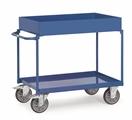 FETRA Tischwagen 4840, 850x500mm Tragkraft 400kg, 2 Wannen  | günstig bestellen bei assistYourwork