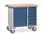 FETRA Werkstattwagen mit Abrollrand 12450, 985x590mm mit 6 Schubladen und 1 Unterschrank  | günstig bestellen bei assistYourwork