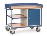 FETRA Werkstattwagen 2435 mit Umrandung 1 Schrank und 1 Zwischenboden | günstig bestellen bei assistYourwork