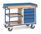 FETRA Werkstattwagen 2437 mit Umrandung 4 Schubladen und 1 Zwischenboden | günstig bestellen bei assistYourwork