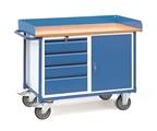 FETRA Werkstattwagen 2438 mit Umrandung 4 Schubladen und 1 Schrank | günstig bestellen bei assistYourwork