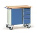 FETRA Werkstattwagen 2452, 985x590mm mit 4 Schubladen und 1 Unterschrank | günstig bestellen bei assistYourwork