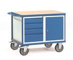 FETRA Werkstattwagen 2476, 1050x700mm mit 4 Schubladen und Unterschrank | günstig bestellen bei assistYourwork