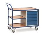FETRA leichter Werkstattwagen 2634 mit 4 Schubladen, umlaufender Rand | günstig bestellen bei assistYourwork