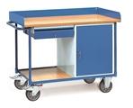 FETRA Werkstattwagen 2436 mit Umrandung 1 Schrank und 1 Schublade | günstig bestellen bei assistYourwork