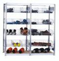 Kleinteileregal mit Gitterkörben, Set, Grundfeld 2000x2010x500mm | günstig bestellen bei assistYourwork