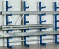 Kragarmregal Grundfeld, doppelseitig, 2000x1000x2x800mm, 2x5 Ebenen | günstig bestellen bei assistYourwork