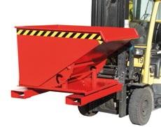 Kippbehälter Typ 3S 300 lackiert 0,30m³, mit 3-seitiger Kippfunktion | günstig bestellen bei assistYourwork