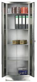 Akten-Lagerschrank 1800x600x500mm aus Edelstahl | günstig bestellen bei assistYourwork