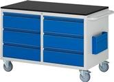 Montagewagen A5-LL3.0.0I-M Serie Basic-7, HxBxT: 790x1145x650 mm | günstig bestellen bei assistYourwork