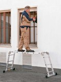 ZARGES Vielzweckleiter 44883, 4x3 Sprossen, Z200 | günstig bestellen bei assistYourwork