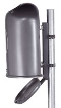Abfallbehälter 45l Modell 7035-00 mit Bodenentleerung | günstig bestellen bei assistYourwork