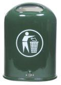 Abfallbehälter 45l Modell 7034-00 mit Federklappe und Bodenentleerung | günstig bestellen bei assistYourwork