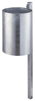 Abfallbehälter 25l Inhalt Modell 7019-00 inklusive Quadratpfosten | günstig bestellen bei assistYourwork