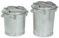 verzinkter System-Mülleimer 25 Liter nach DIN 6628-6629 | günstig bestellen bei assistYourwork