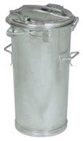 verzinkter System-Mülleimer 50 Liter nach DIN 6628-6629 | günstig bestellen bei assistYourwork