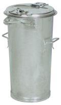verzinkter System-Mülleimer 50 Liter nach DIN 6628-6629, OHNE Verschlussbügel | günstig bestellen bei assistYourwork