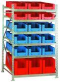 Bereitstellungsregal BSR4, Grundfeld 2200x1407x1300mm, inkl. 36 Behälter | günstig bestellen bei assistYourwork
