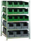 Bereitstellungsregal BSR5, Grundfeld 2200x1407x1300mm, inkl. 48 Behälter | günstig bestellen bei assistYourwork
