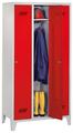 Garderobenschrank mit 3 Abteile á 300 mm, 1850x930x500mm | günstig bestellen bei assistYourwork