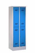 Schließfachschrank mit 4 Fächern, Abteilbreite 300 mm | günstig bestellen bei assistYourwork